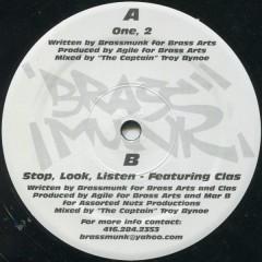 Brassmunk - One, 2  / Stop, Look, Listen