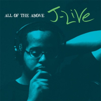J-Live - All Of The Above (Blue Vinyl LP)
