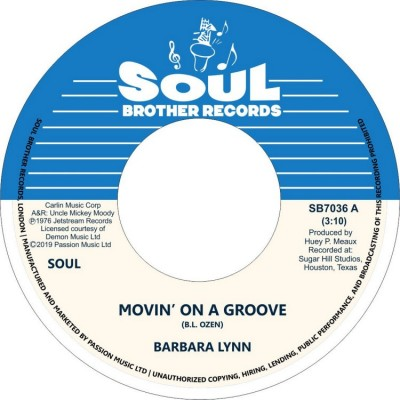 Barbara Lynn - Movin' On A Groove/Disco Music (Reissue)