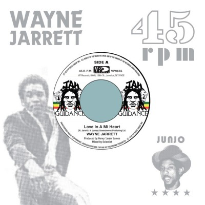 Wayne Jarrett / Roots Radics - Love In A Mi Heart / Blood On His Lips