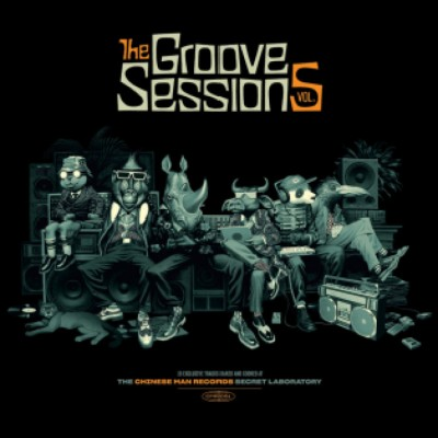 Chinese Man - The Groove Sessions Vol. 5 (15 Exclusive Tracks Baked And Cooked At The Chinese Man Records Secret Labratory)