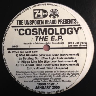 The Unspoken Heard - Cosmology EP