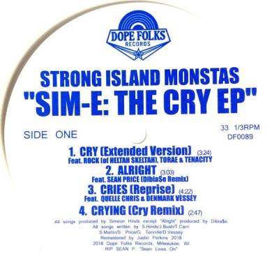 Sim-E - The Cry EP / Adum' EP