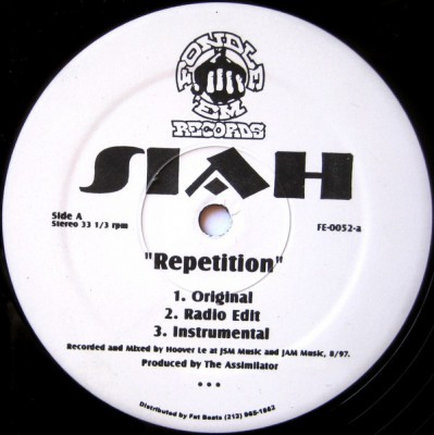 Siah - Repetition