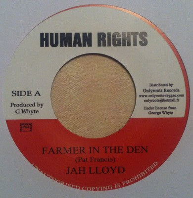 Jah Lloyd - Farmer In The Den