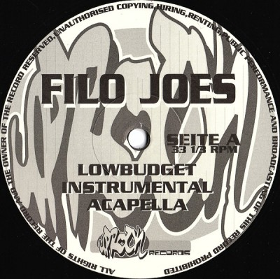 Filo Joes - Lowbudget