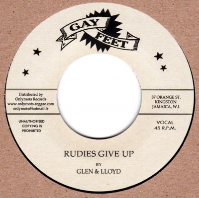 Lloyd & Glen - Rudies Give Up / Orange Street Special