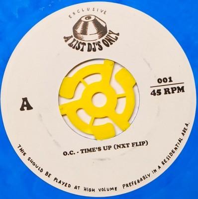 O.C. - Time's Up (NXt Flip / blue vinyl)