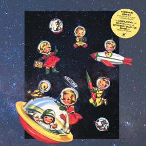 Various - Elsewhere Junior I: A Collection Of Cosmic Children Songs(Colored Vinyl Repress)