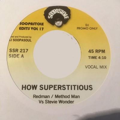 Redman / Method Man Vs Stevie Wonder - How Superstitious