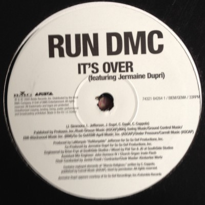 Run-DMC - Rock Show / It's Over