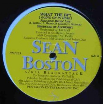Sean Boston - My Word