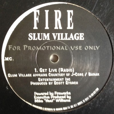 Slum Village - Get Live / What You Be Like