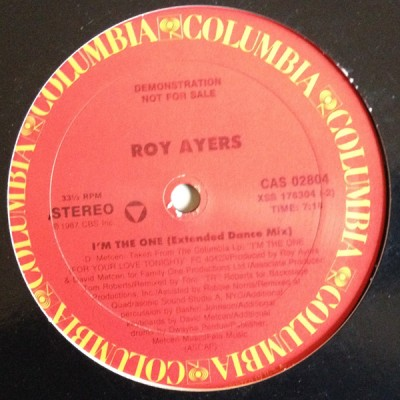 Roy Ayers - I'm The One (For Your Love Tonight)