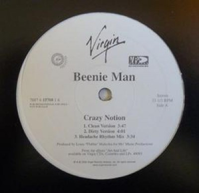 Beenie Man - Crazy Notion