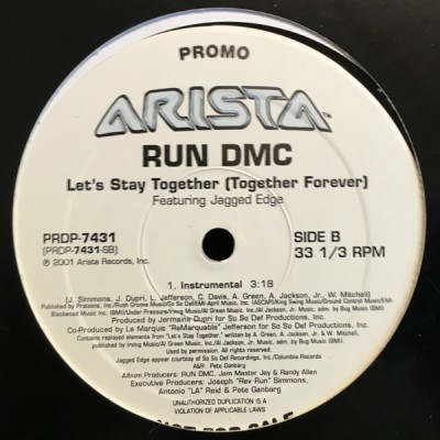 Run-DMC - Let's Stay Together (Together Forever)