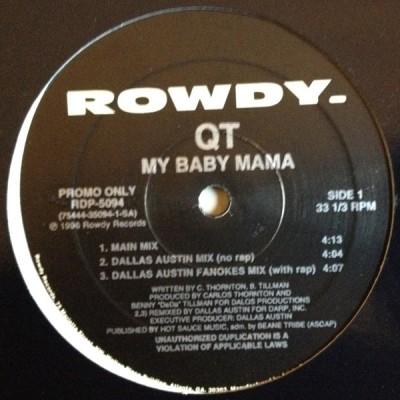 QT - My Baby Mama