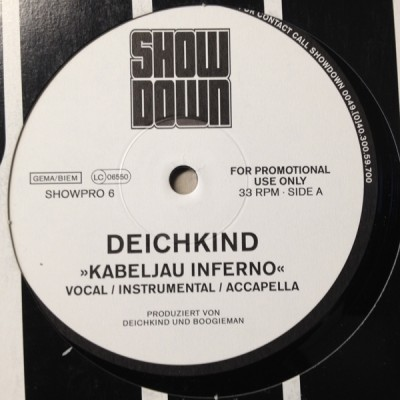 Deichkind - Kabeljau Inferno / Profession