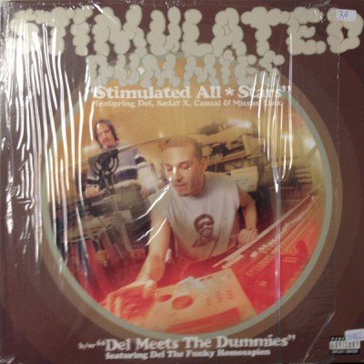 Stimulated Dummies - Stimulated All-Stars / Del Meets The Dummies