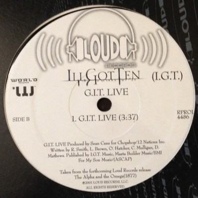 I.G.T. - Class By Emself / G.I.T. Live
