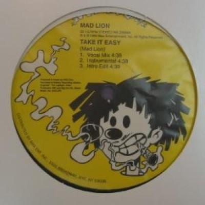 Mad Lion - Take It Easy