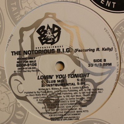 Notorious B.I.G. Featuring R. Kelly - Lovin' You Tonight