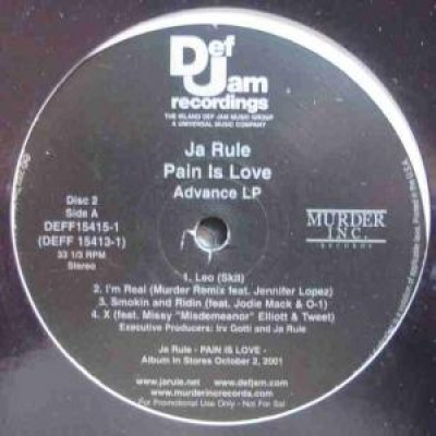 Ja Rule - Pain Is Love (Exclusive Album Advance Radio)