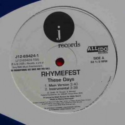 Rhymefest - These Days