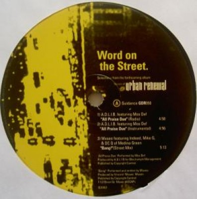 Various - Word On The Street
