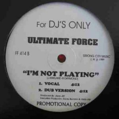 Freddie Foxxx / Ultimate Force (Master Rob & Diamond D) - The Ma