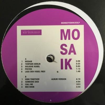 Siriusmo - Mosaik