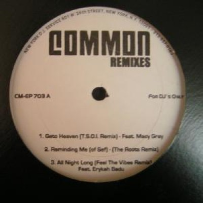 Common - Remixes EP