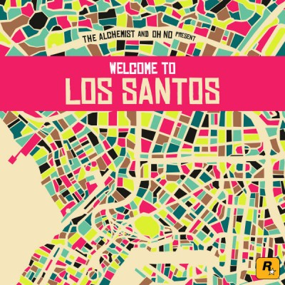 The Alchemist & Oh No - Present: Welcome To Los Santos (2LP+MP3)