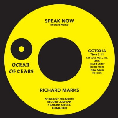 Richard Marks - Speak Now / Purple Haze