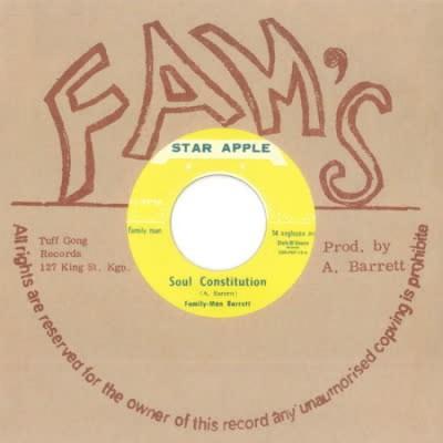 Aston 'Family Man' Barrett & Johnny Dizzy Moore - Soul Constitution