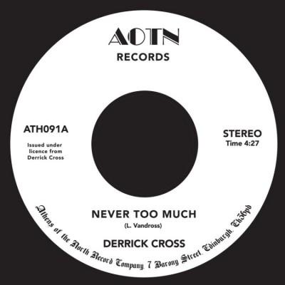 Derrick Cross - Never Too Much (Voc / Instr)