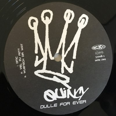 DMC Quincy - Dulle For Ever