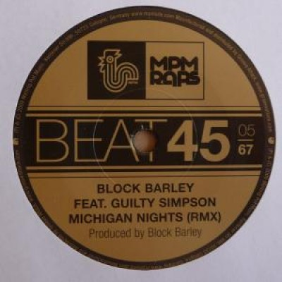 Block Barley - Michigan nights remix feat. Guilty Simpson