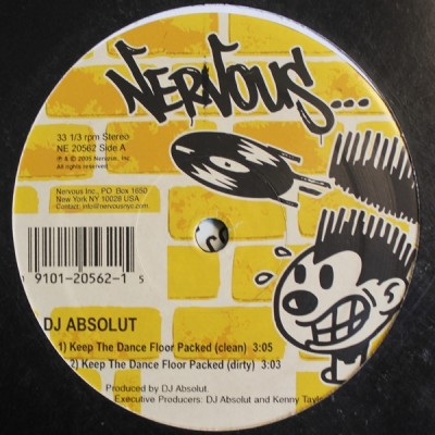 DJ Absolut - Keep The Dance Floor Packed / Boomin' System '05
