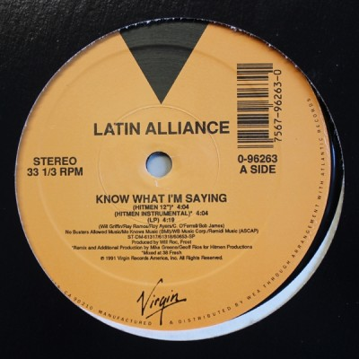 Latin Alliance - Know What I'm Saying
