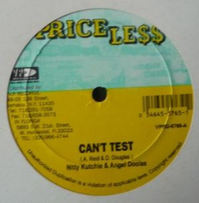 Nitty Kutchie - Can't Test / Gone With Another Man