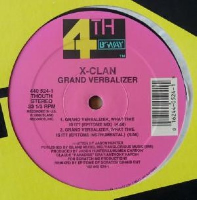 X-Clan - Grand Verbalizer
