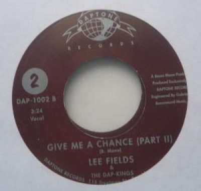 Lee Fields - Give Me A Chance