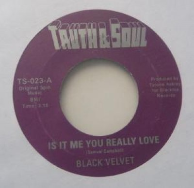 Black Velvet - Is It Me You Really Love