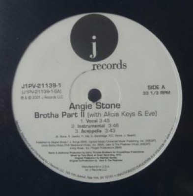 Angie Stone - Brotha Part II