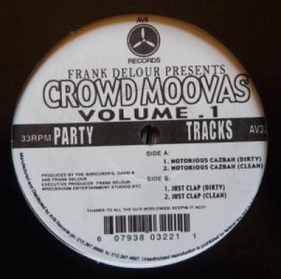 Frank Delour - Crowd Moovas Volume 1