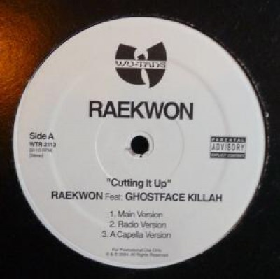 Raekwon - Cutting It Up / Ice Water Anthem