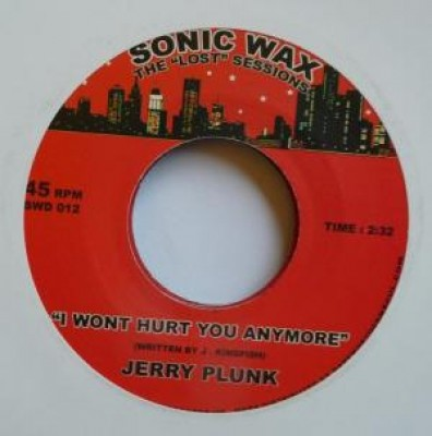 Jerry Plunk - I Wont Hurt You Anymore