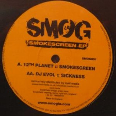 12th Planet - Smokescreen EP