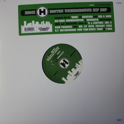 Various - Home - Boston Underground Hip Hop